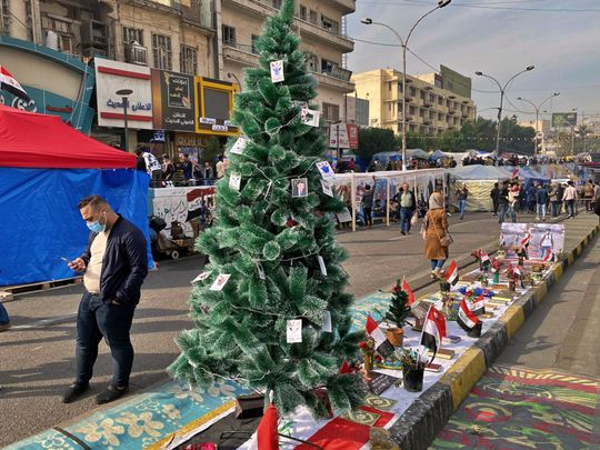 REG 191213 Iraq Christmas Tree-1576240274692