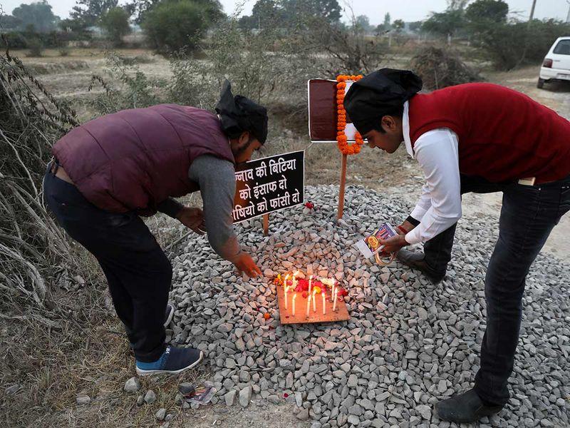 Unnao rape murder site 20191213