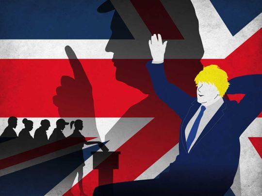 Boris and Trump