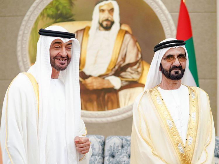 Sheikh Mohamed and Sheikh Mohammed