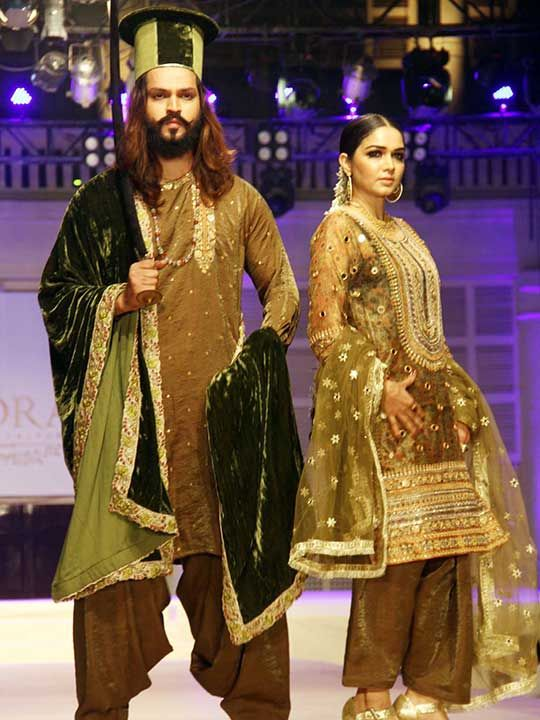 In Pictures Hyderabad Fashion Show By Sidra Talpur Lifestyle Photos Gulf News