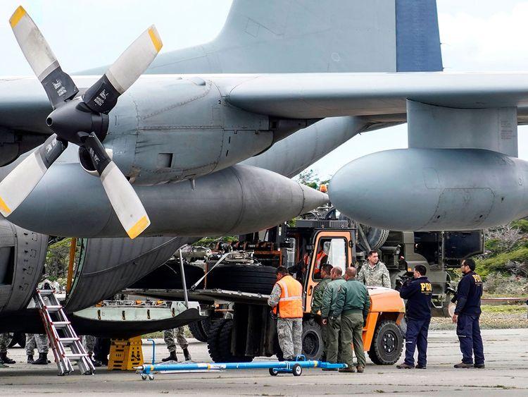 Chilean Air Force plane