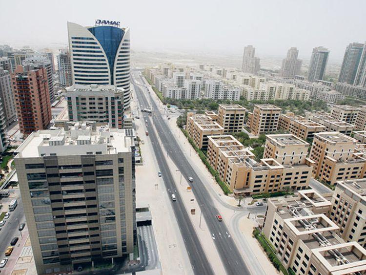Tecom Dubai buildings