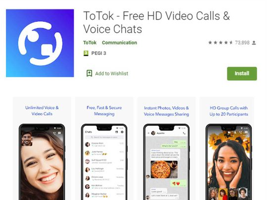 Google Play store warns on ToTok: This app tries to spy on you