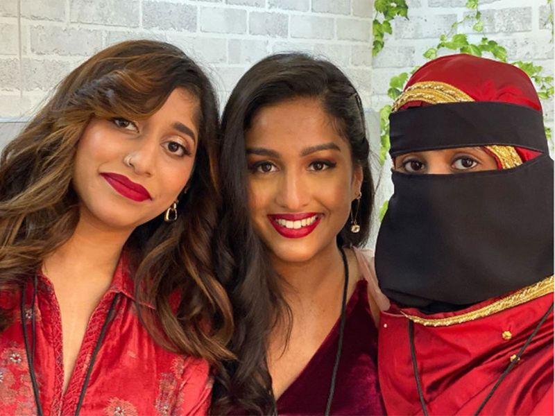 A R Rahman's daughter Khatija and Raheema