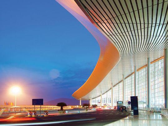 Future car parks at airports