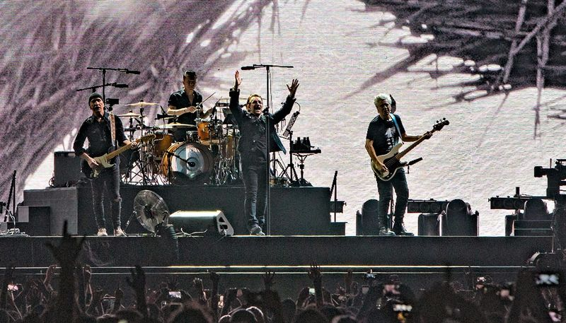 Irish rock band U2