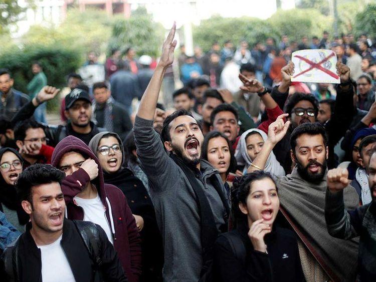 Jamia protests lead