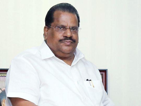 Kerala's Industries Minister E P Jayarajan