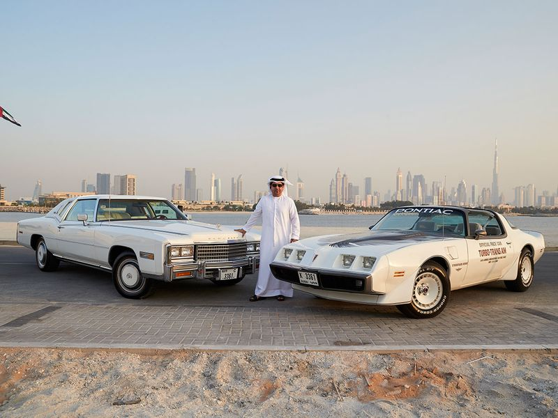 Auto Mohammed and his classic cars