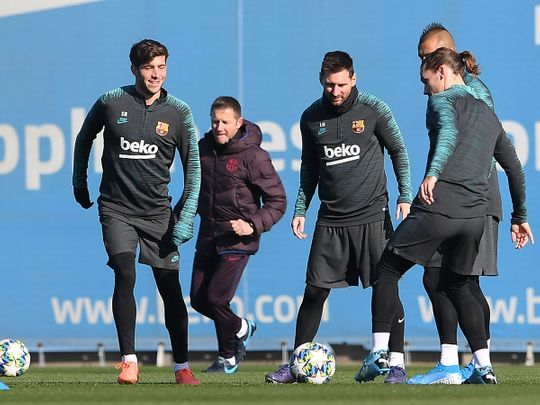 Barcelona Real Madrid Lead In Spain As They Head For Winter Break