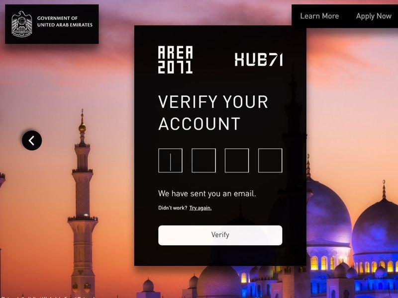 Golden visa process verify your account