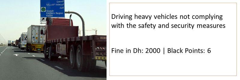 Traffic fines UAE