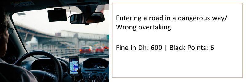 UAE traffic fines