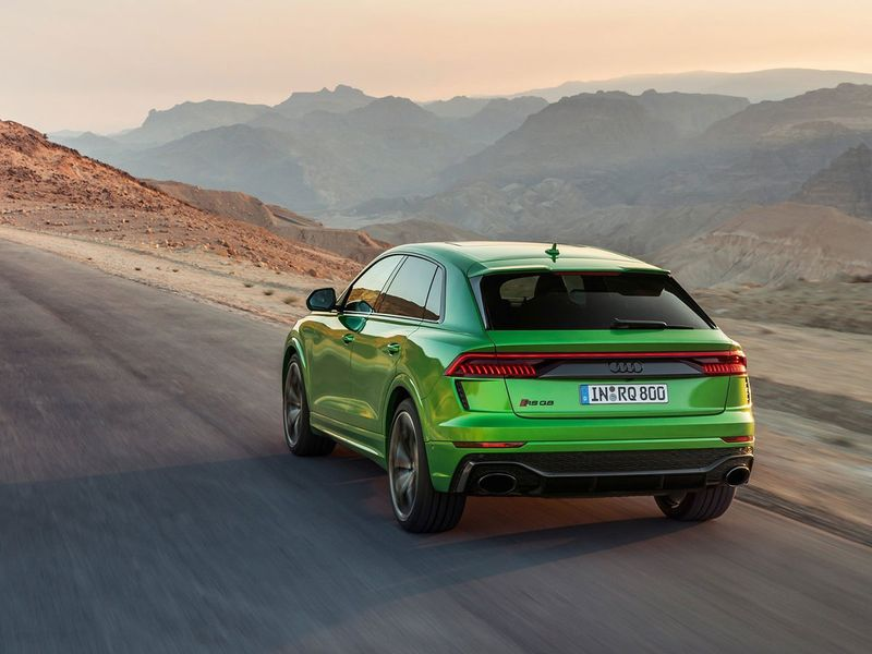 Look 2020 Audi Rs Q8 Is A Lamborghini Urus On A Budget Auto News Gulf News