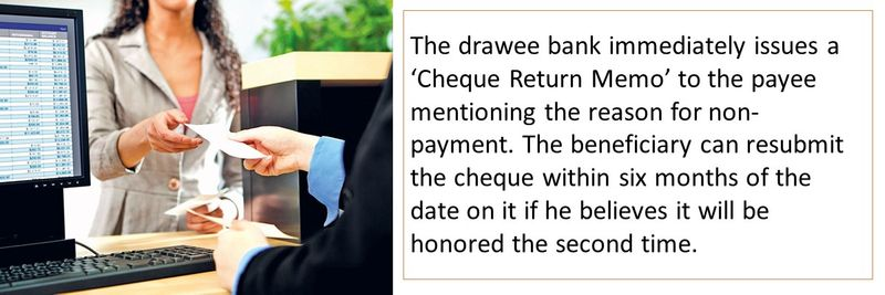 Bounced cheques 6