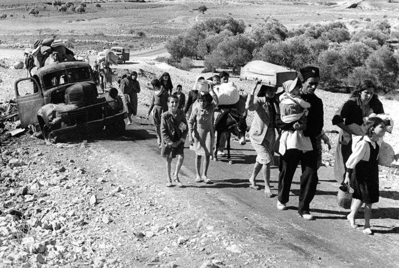 REG Palestinian refugees fleeing Nakba1-1576740272168