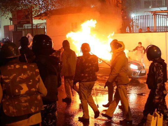 CAA protests in Delhi
