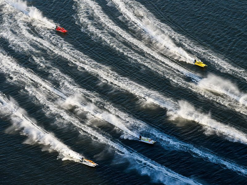 Formula One powerboats