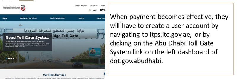 Abu Dhabi toll 10