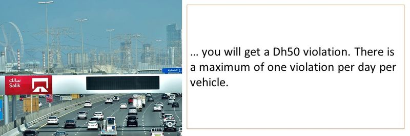 Abu Dhabi toll 21