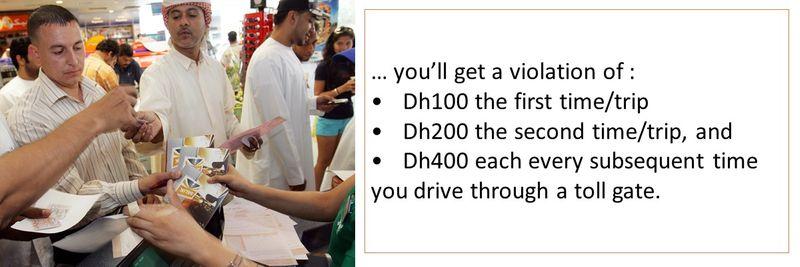 Abu Dhabi toll 23