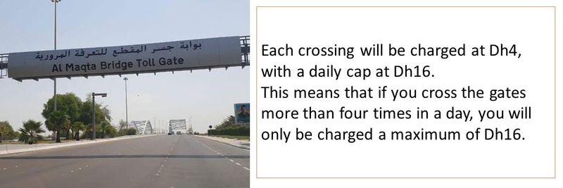 Abu Dhabi toll 2