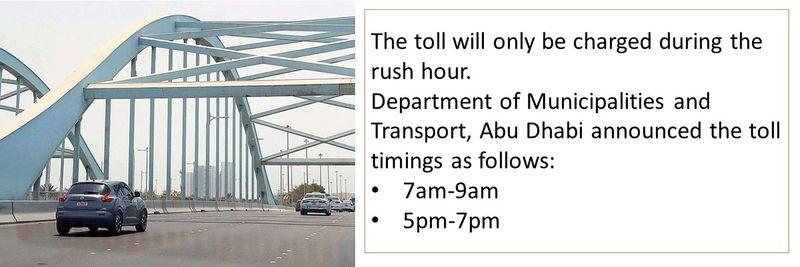 Abu Dhabi toll 3