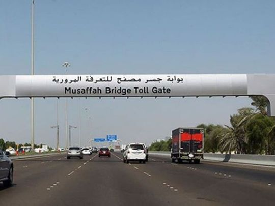 Abu Dhabi toll lead
