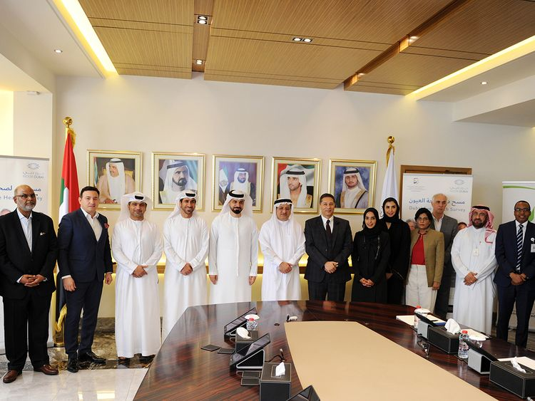 Dubai Health Authority Dubai Eye Health Survey