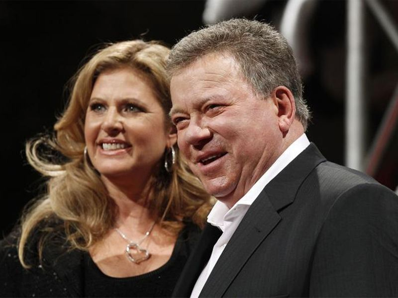 William Shatner and wife Elizabeth