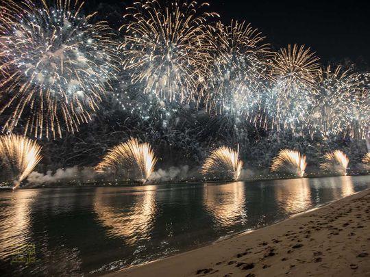 Abu Dhabi New Year Celebrations 2018