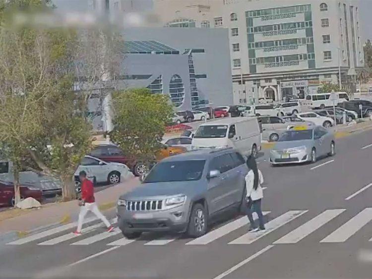 Abu Dhabi Police warn drivers to give way