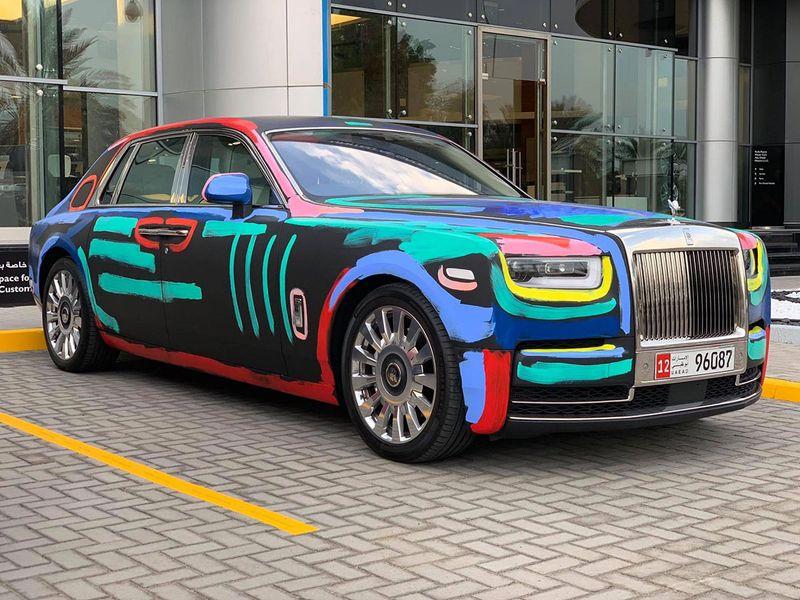 Auto Rolls Royce Phantom