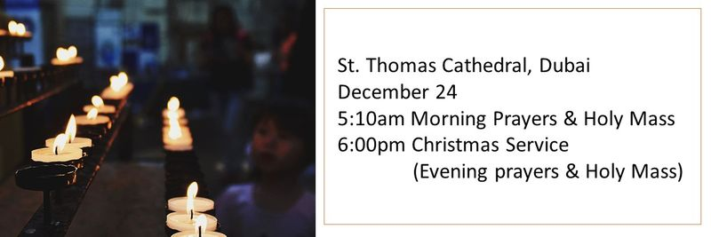 St Thomas Cathedral Christmas Mass timings