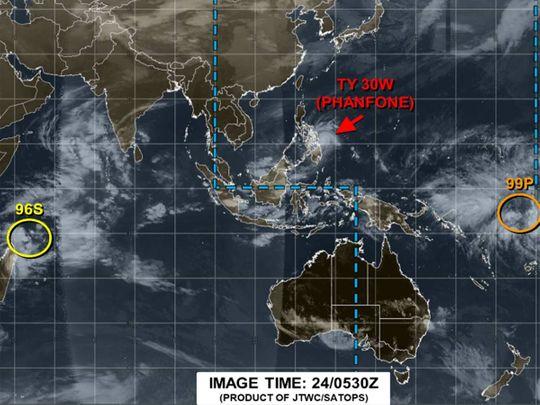 Tropical Storm Phanfone