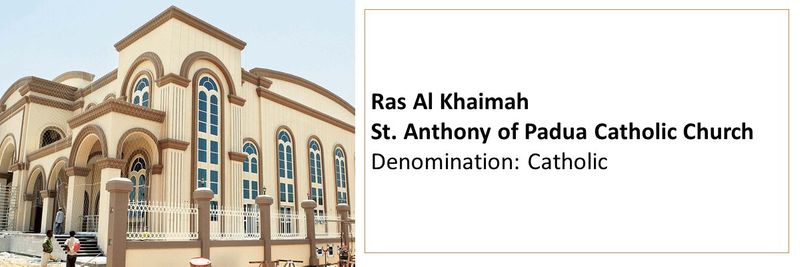 Places of worship in the UAE 52