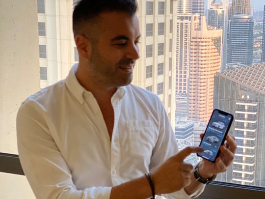 BUS 191226 Claudio Esposito-Aiardo, CEO of the car subscription startup Carasti1-1577342698532