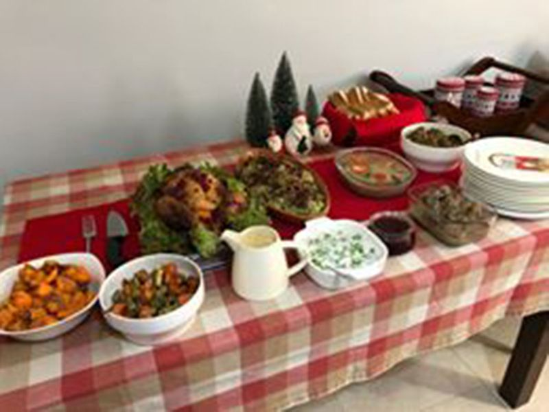 Readers' share Christmas lunch
