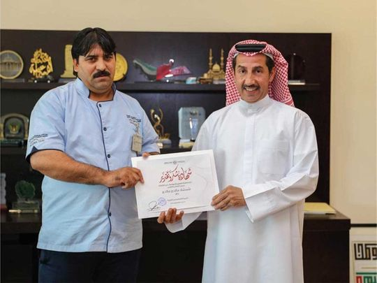 Sharjah taxi driver awarded on Thursday