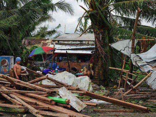 Typhoon Phanfone in Tacloban