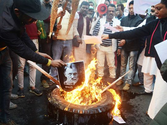 Indians protesting Citizenship law 20191227