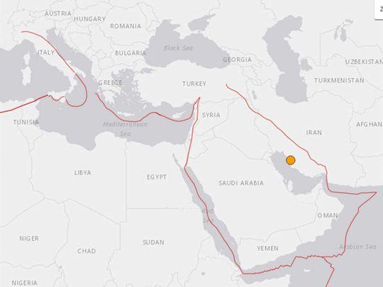 Iran earth quake near nuclear plant