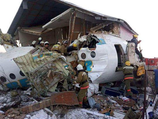 Plane crash near Almaty 20191227
