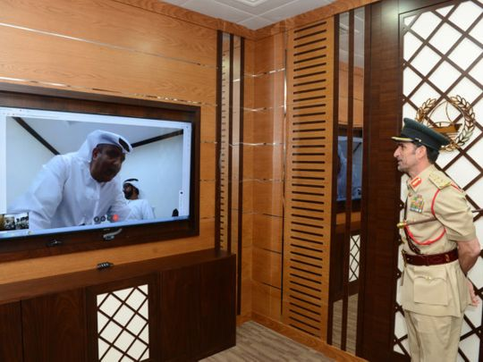 NAT 191226 Video conference rooms at Dubai police-1577514909628