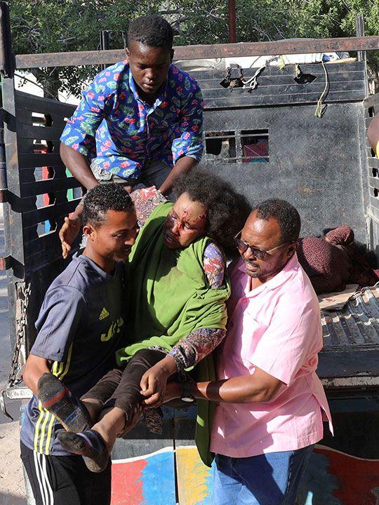 Somalia blast.