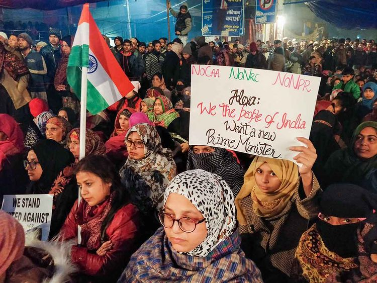 Can The Anti Caa Shaheen Bagh Protests In Delhi Have Their Jp Moment India Gulf News