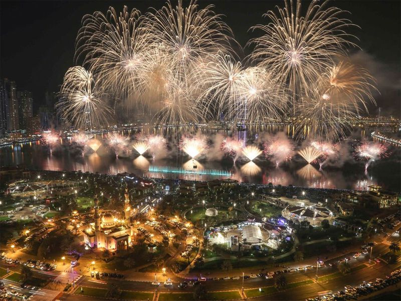 Ras Al Khaimah marvels the world with spectacular New Year's eve fireworks.