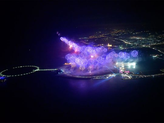 Ras Al Khaimah record fireworks