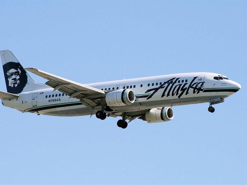 8) Alaska Airlines